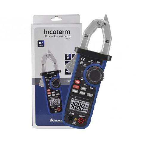 Imagem de Alicate amperimetro digital incoterm ad230