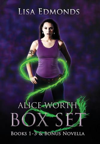 Imagem de Alice Worth Box Set (Books 1 - 3 & Bonus Novella) - City Owl Llc