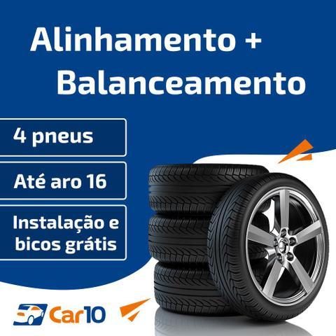 Imagem de Alinhamento + Balanceamento + Instalação de pneus de 4 pneus