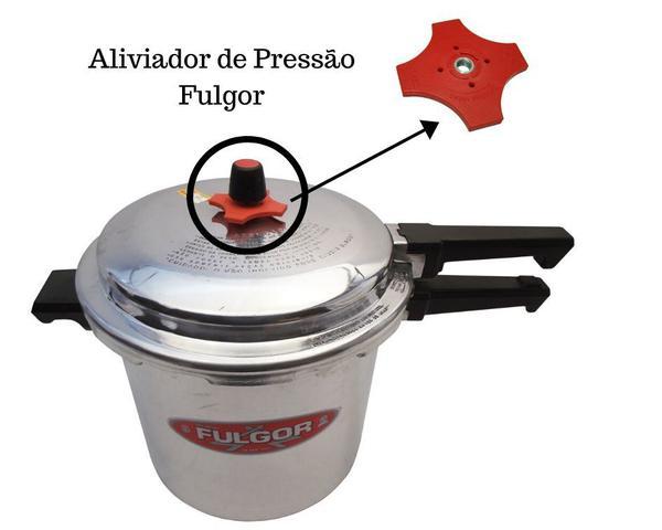 Imagem de Aliviador de pressão Estrela para Panela de pressão Fulgor Industrial 12, 15, 20, 25, 30 e 35 litros