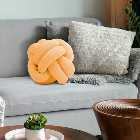 Imagem de Almofada de Nó Escandinavo Decorativa Cores