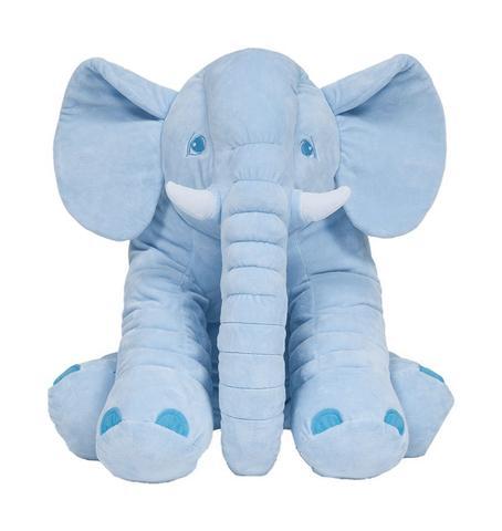 Imagem de Almofada Elefante Gigante Azul - Buba