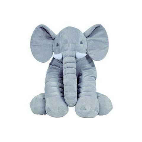 Imagem de Almofada Elefante Gigante Cinza Buba