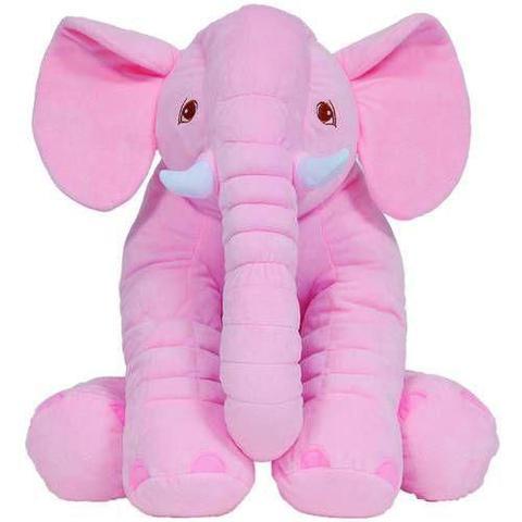 Imagem de Almofada Elefante Rosa  Gigante 7562 - Buba
