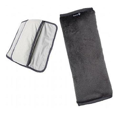 Imagem de Almofada Para Cinto De Seguranca Kababy Serve Como Travesseiro Protetor Bebe Crianca Tecido Macio E Acolchoado Cinza .