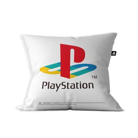 Imagem de Almofada Playstation Classic Color 40X 40 Cor Branca Licenciado Sony
