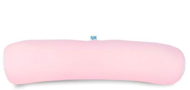 Imagem de Almofada Protetora de Berço Rosa Hipoalérgica 80cm Floc