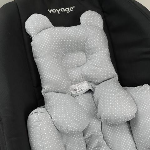 Imagem de Almofada Redutora Bebê Conforto Chuva de Amor Azul
