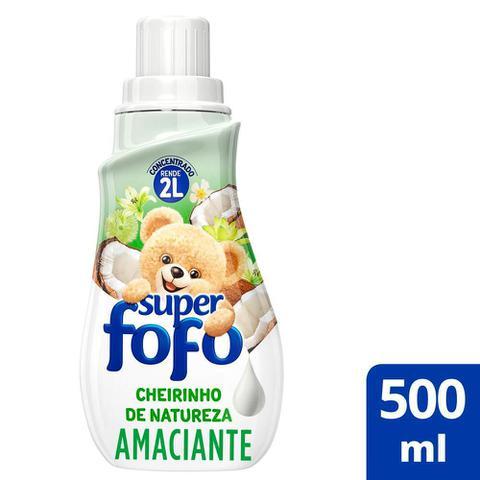 Imagem de Amaciante de Roupa Fofo Concentrado Super Cheirinho de Natureza 500ml