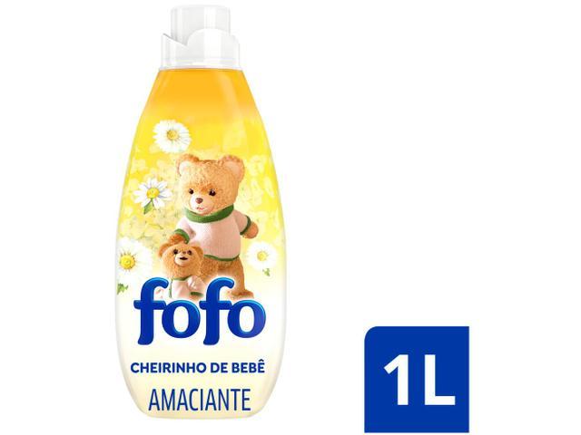 Imagem de Amaciante Fofo Cheirinho de Bebê Concentrado 1L