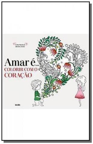 Imagem de Amar e colorir com o coracao
