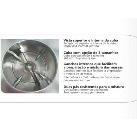 Imagem de Amassadeira Venâncio para 25 kg Rápida Profissional