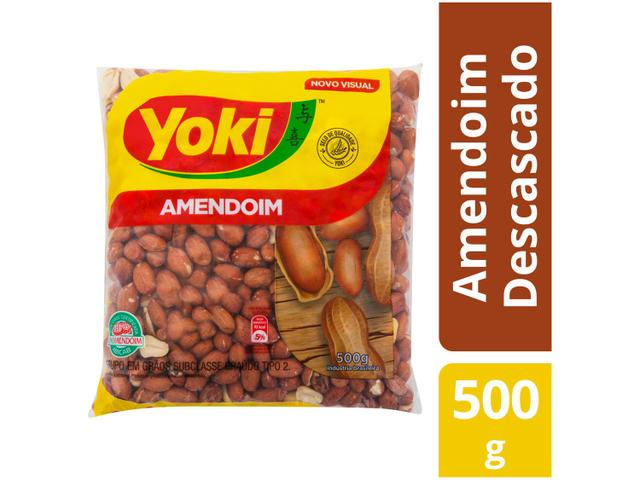 Imagem de Amendoim Descascado Original Yoki