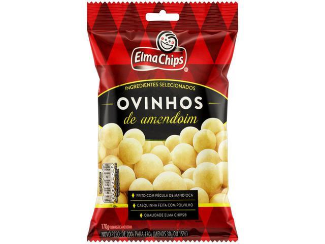 Imagem de Amendoim Ovinhos Elma Chips