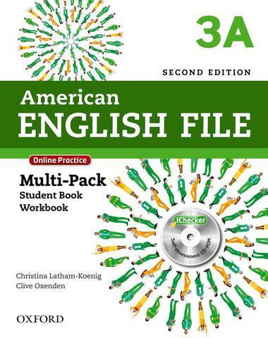 Imagem de American english file 3a multipack - 2nd ed