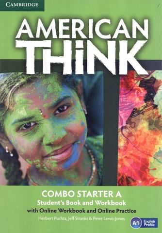 Imagem de American think starter a combo sb with online wb and online practice - 1st ed