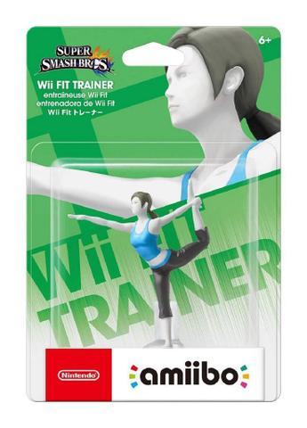 Imagem de Amiibo Wii Fit Trainer Super Smash Bros