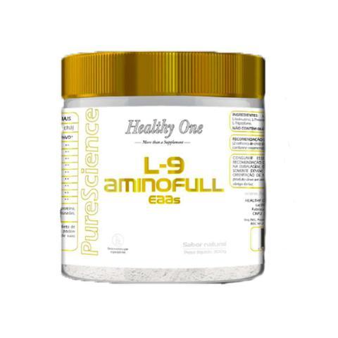 Imagem de Aminoacido L-9 Aminofull EAAs 300g Natural Healthy One