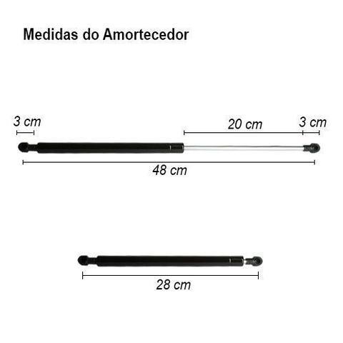 Imagem de Amortecedor Porta Malas Cinoy Palio 96/05