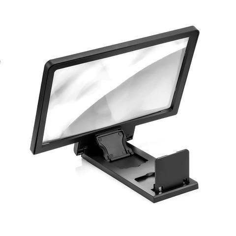 Imagem de Ampliadora Lente De Aumento Tela 3d Suporte Tablet Zoom Celular F1