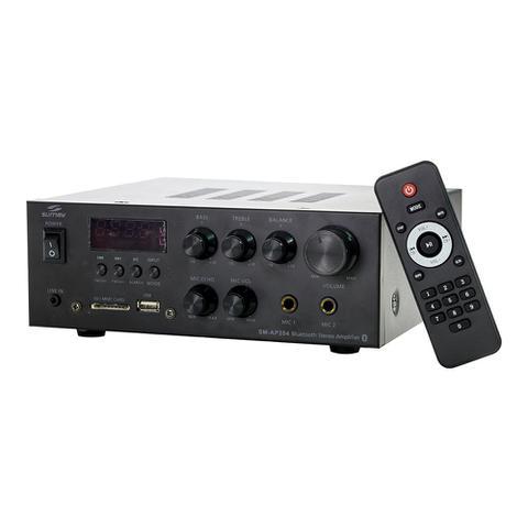 Imagem de Amplificador Bluetooth/USB/SD/FM/Aux Stereo Sumay SM-Ap204
