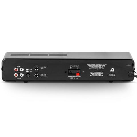 Imagem de Amplificador Com Bluetooth, USB/SD/FM SLIM 2000 APP G2 - Frahm