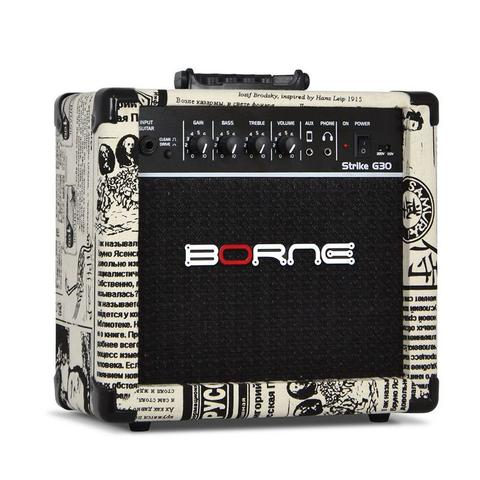 Imagem de Amplificador Cubo Guitarra Borne Jornal G30 15w