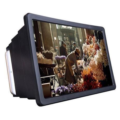 Imagem de Amplificador De Imagem Tela 3d Celular Lupa Suporte Universal Zoom