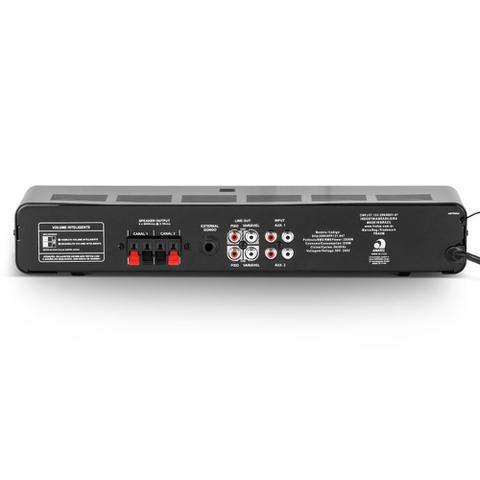 Imagem de Amplificador de Potência SLIM2500APPG2 Bluetooth 160W Frahm