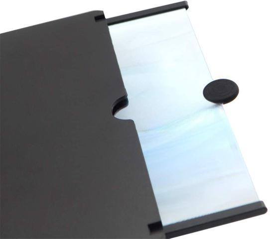 Imagem de Amplificador de Tela de Telefone Móvel Efeito 3D Tela Grande com Suporte de Mesa TELA de Telefone PRETO