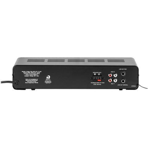 Imagem de Amplificador Frahm Slim G2 3000 APP 200 W RMS Até 32 Cx
