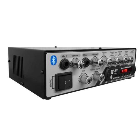 Imagem de Amplificador Music WAY Som Amb Bluetooth Usb Rc7000 4 canais