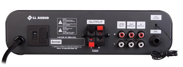 Imagem de Amplificador para Som Ambiente AB100BT com Bluetooth