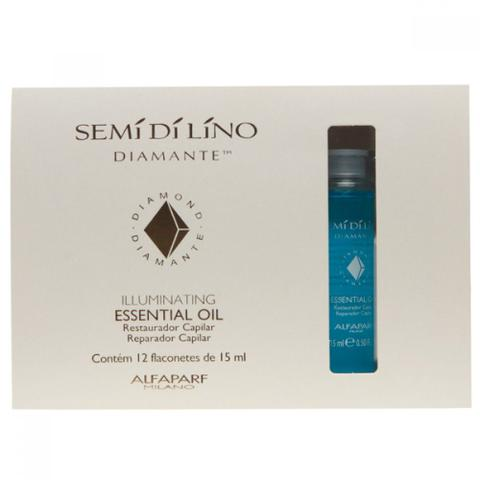 Imagem de Ampola Azul Alfaparf Semí Dí Líno Diamante Essential Oil - Caixa 12 und x 15ml cada
