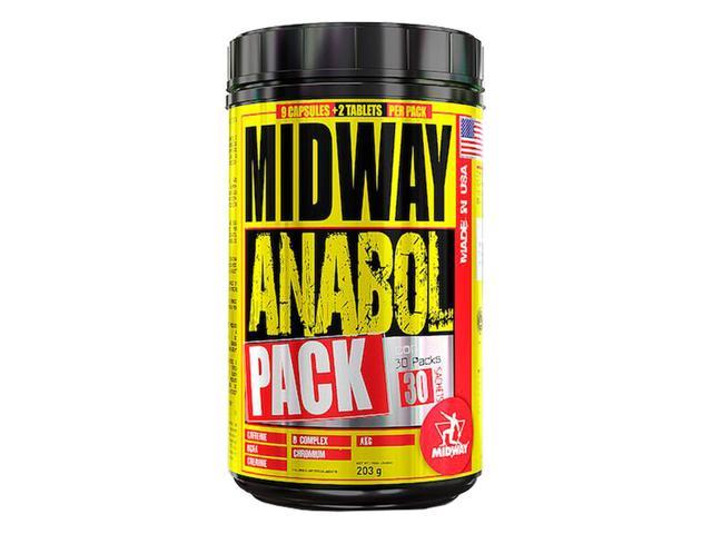 Imagem de Anabol Pack Usa 30 Pack - Midway