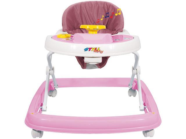 Imagem de Andador para Bebê com Bandeja Musical Styll Baby