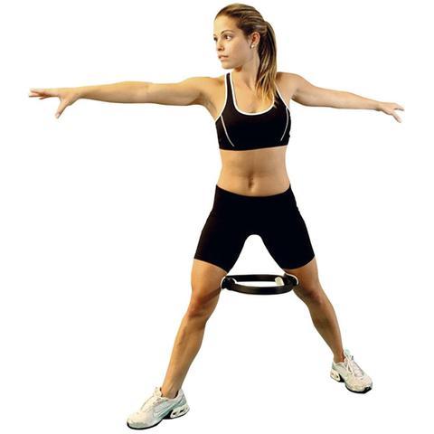 Imagem de Anel De Pilates Yoga 38cm Em Abs Preto T12 Acte