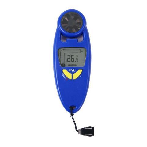 Imagem de Anemômetro digital Incoterm 0.2-30M/S  com termômetro e estojo para transporte