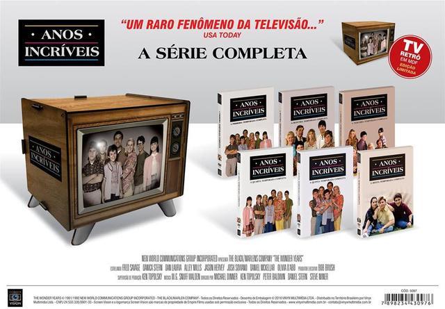 Imagem de Anos Incríveis - A Série Completa - Tv Retrô