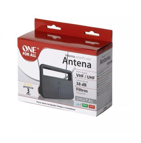Imagem de Antena Digital Interna Amplific Tv/uhf/vhf E Hd 38db Sv9422