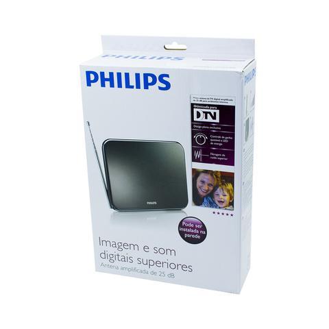 Imagem de Antena Digital Interna Philips Amplificada Sdv7225t/55