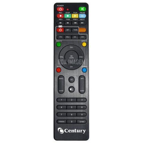 Imagem de Antena Parabólica Digital-Canais em HD - com Receptor Satélite Midiabox b4 - Century