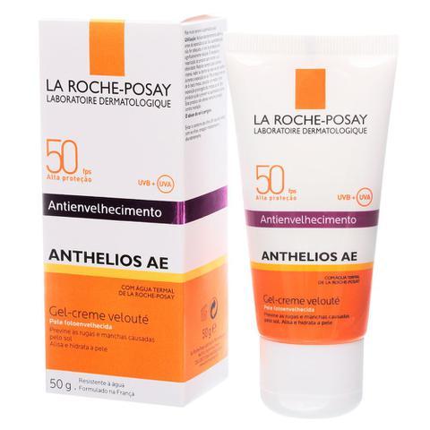 Imagem de Anthelios Ae Gel-Creme Velouté Fps 50 La Roche-Posay - Protetor Solar Facial
