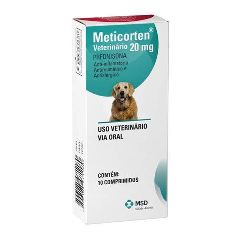 Imagem de Anti-inflamatório Meticorten para Cães 20mg