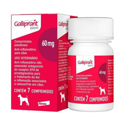 Imagem de Anti-inflamatório para Cães Galliprant 60mg - 7 Comprimidos