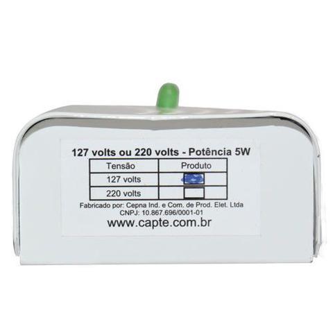 Imagem de Anti Mofo Eletrônico R14 110V 1 unid. Branco Repel Mofo, Anti-Ácaro e Fungos, Desumidificador Capte