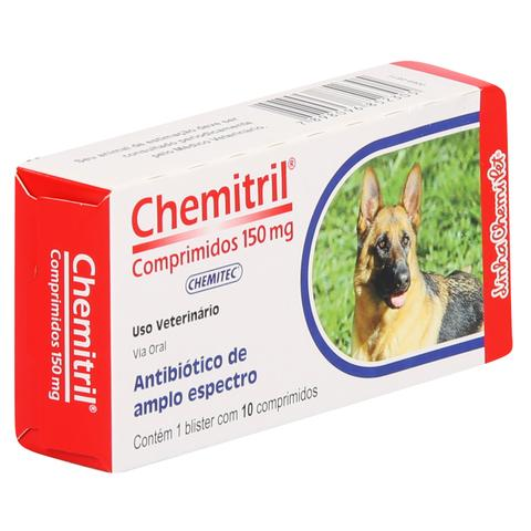 Imagem de Antibiótico Chemitril Chemitec 150mg c/ 10 Comprimidos