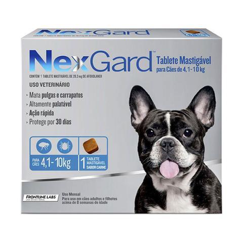 Imagem de Antipulgas e Carrapatos NexGard para Cães de 4 a 10kg