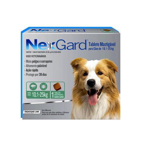 Imagem de Antipulgas e Carrapatos para cães de 10 a 25kg