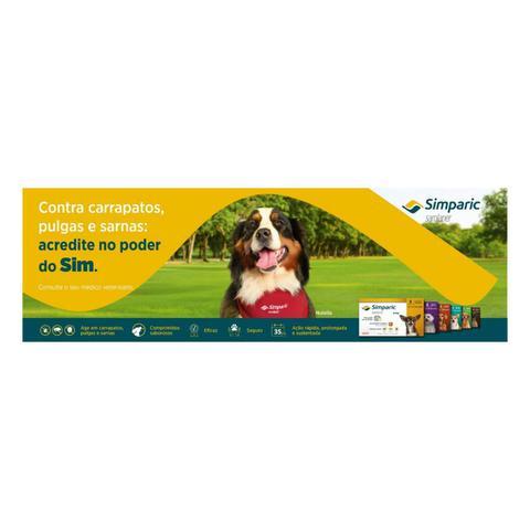 Imagem de Antipulgas Zoetis Simparic 20mg para Cães 5 a 10 Kg - 3 Comprimidos
